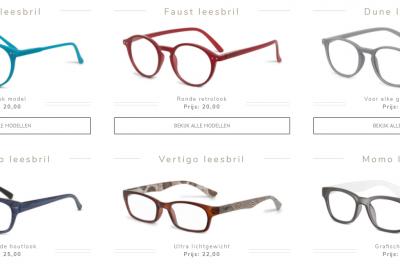 leesbrillen door blinq