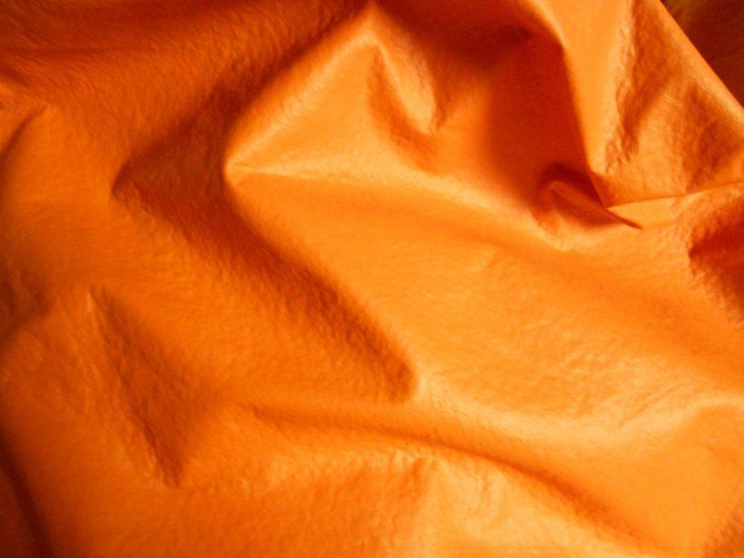 oranje zitzak
