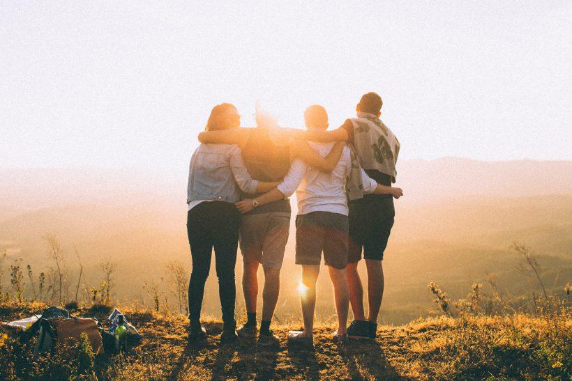 Een leuke ochtend met vrienden