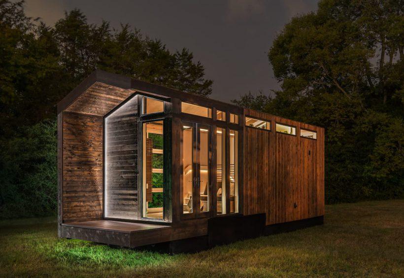 Orchid van New Frontier Tiny Homes we wisten niet dat een tiny house zo luxe kan zijn!